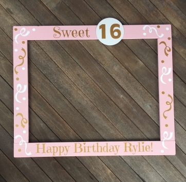 Oh how Sweet it is! – Hand Crafted Wood Photobooth Frame Props!
