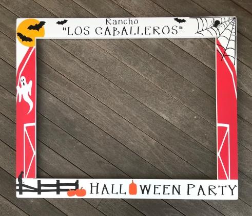 Halloween Frame Prop