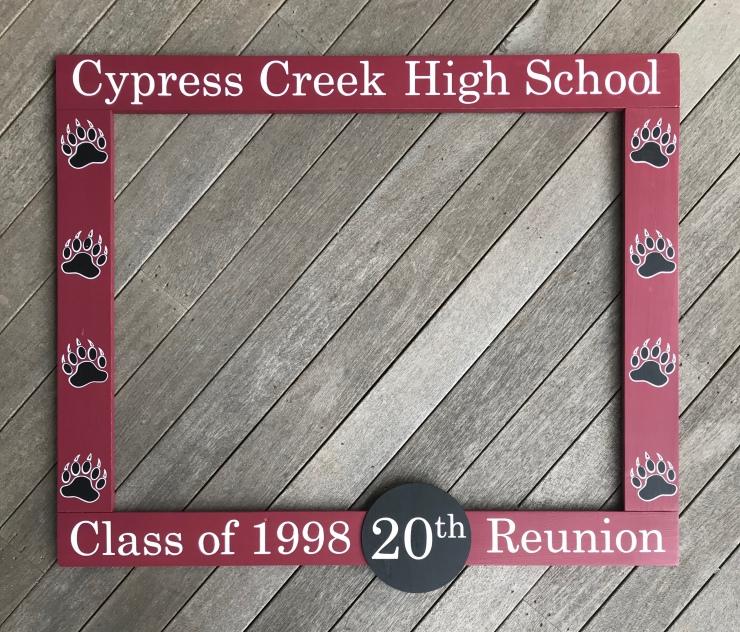 High School Reunion Photo Frame