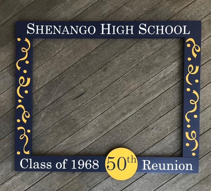 Class Reunion Photobooth Frame