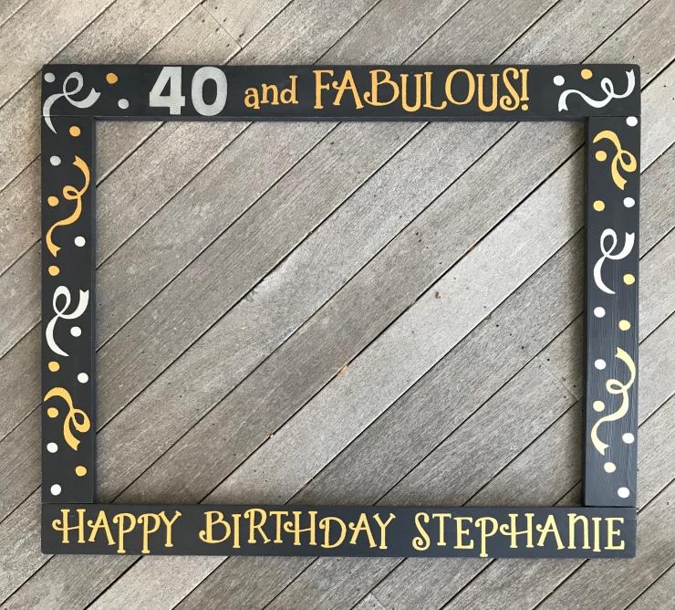 40 and Fabulous Birthday
